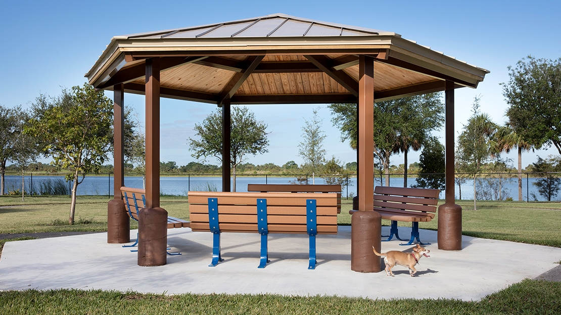 Canine Cove Dog Park Shelter