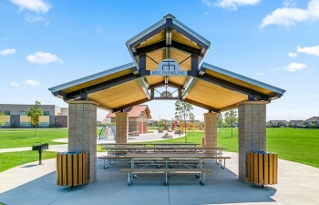 Gable Roof Shelter Idaho
