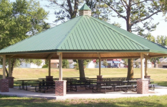metal-shelter-for-park
